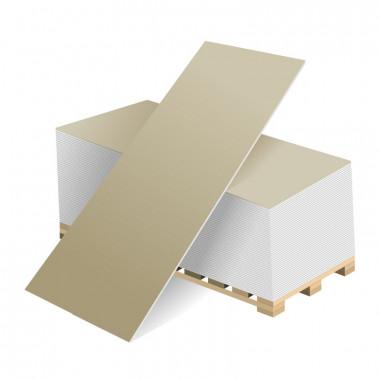 Купить ВОЛМА гипсокартонный лист влагостойкий 2500х1200х9.5  мм. В Адлере и Сочи по выгодной цене с доставкой  и оплатой на месте.