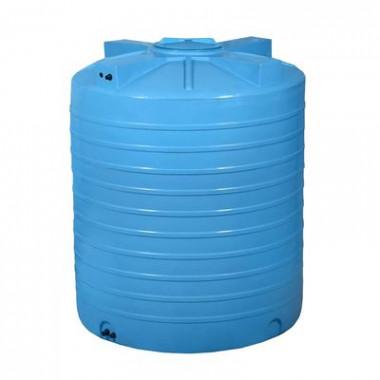 Емкость ATV 1000 (синяя) с отводами и поплавком Aquatech (Код: А0000022891)