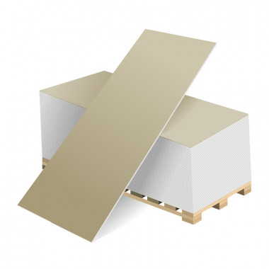 Купить ВОЛМА гипсокартонный лист 2500х1200х9.5  мм. В Адлере и Сочи по низкой цене с доставкой и оплатой на месте.