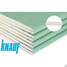 Кнауф Гипсокартон влагостойкий 2500х1200х12,5мм