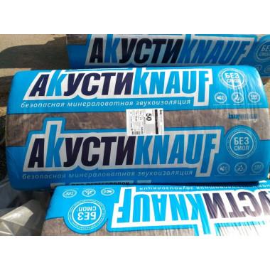 Купить Акустикнауф Звукоизоляция 1230х610х50мм (12м2=0,6м3) (уп.16шт) в Сочи Адлере по низкой цене с доставкой по звонку.