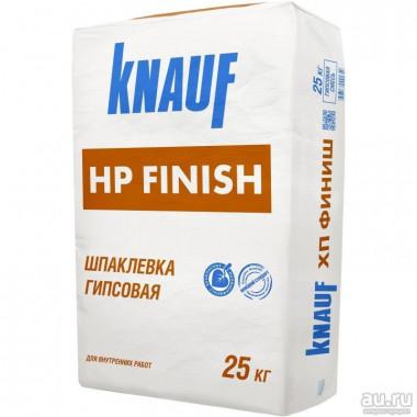 Купить Кнауф Шпаклевка гипсовая HP-Finish (25кг) в Сочи Адлере по низкой цене с доставкой. Грузчики