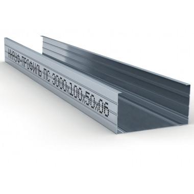 Купить Кнауф Профиль стоечный ПС-6 100х50 (3м) в Сочи Адлере по низкой цене с доставкой. Грузчики