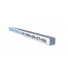 Кнауф Профиль потолочный направляющий ППН 28х27 (3м)