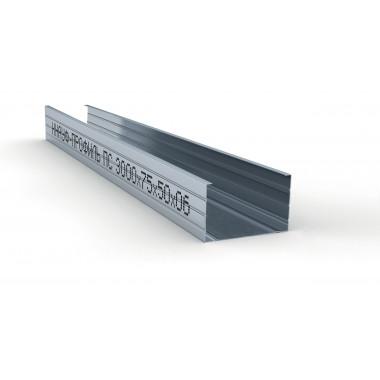 Купить  Кнауф Профиль стоечный ПС-4 75х50 (3м) в Сочи Адлере по низкой цене с доставкой. Грузчики
