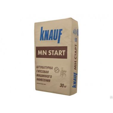 Купить Кнауф Штукатурка гипсовая МН-Старт (30кг) в Сочи Адлере с доставкой. Грузчики