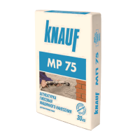 Кнауф МП-75 штукатурка машинная гипсовая (30кг)