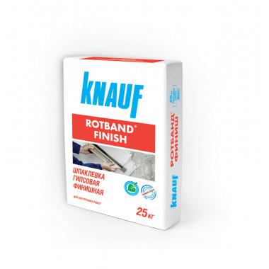 Купить Кнауф Ротбанд-Финиш шпаклевка гипсовая (25кг) в Сочи Адлере с Доставкой. Грузчки