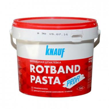 Купить Кнауф Ротбанд Паста Профи (18кг) шпаклевка готовая в Адлере и Сочи по выгодной  цене с доставкой. Грузчики