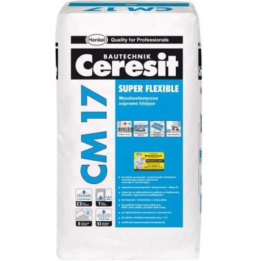 Купить Церезит CM17 Клей для плитки для внутр/наруж работ (25кг) в Сочи Адлере с доставкой и оплатой на месте