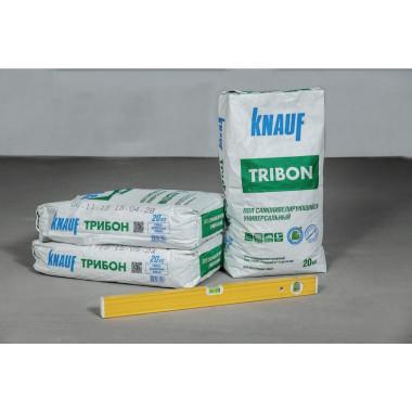 Купить Кнауф Трибон стяжка самонивелир.гипсо-цементная (20кг) в Сочи Адлере с доставкой. Грузчики