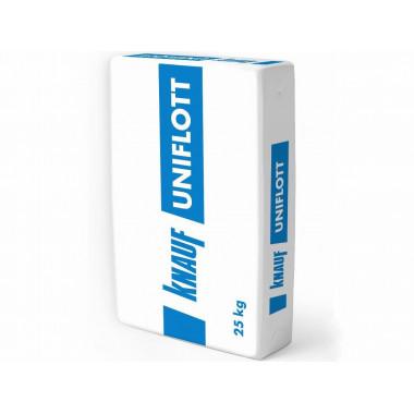 Купить Кнауф Унифлот (25кг) шпаклевка гипсовая высокопрочная в Сочи Адлере с доставкой. Грузчики