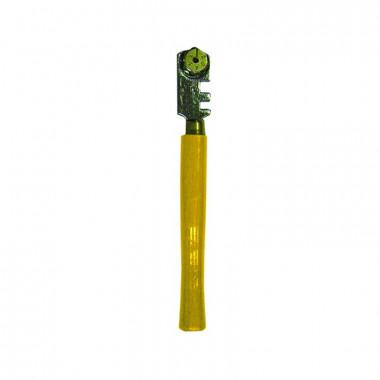 Стеклорез роликовый Biber 55532 6 режущих элементов