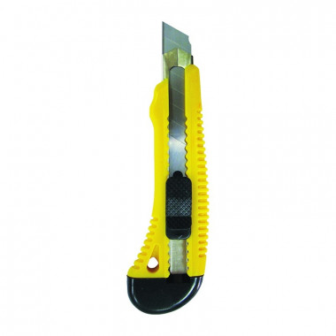 Нож строительный Biber 50114 усиленный 18 мм