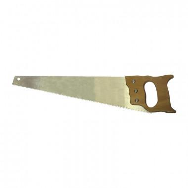 Ножовка по дереву Biber 85662 Мастер 2D заточка, средний зуб, 450 мм