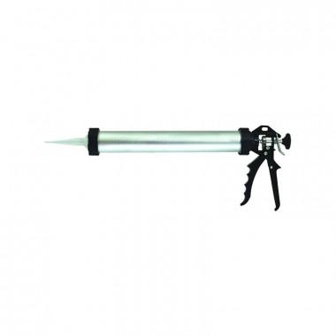 Пистолет для туб, закрытый, алюминиевый корпус 380 мм/600мл