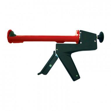 """Пистолет для герметиков 9"""" полукорпусной с противовесом"""