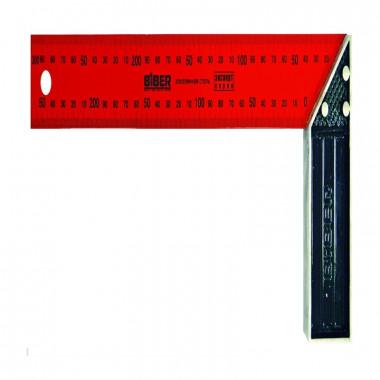 Угольник столярный Biber 40537 ЭКСПЕРТ 300 мм