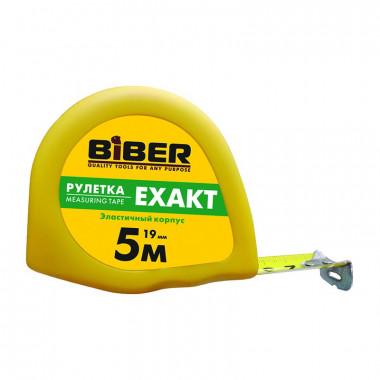 Рулетка Biber 40113 EXAKT эластичный корпус 5 м/19 мм