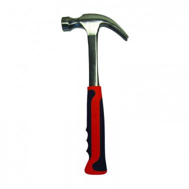 Молоток-гвоздодер Biber 85384 Профи цельнометаллический 0,6 кг