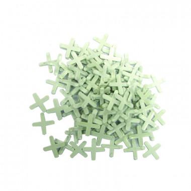 Крестики для кафеля Biber 55603 2,5 мм, 200 шт