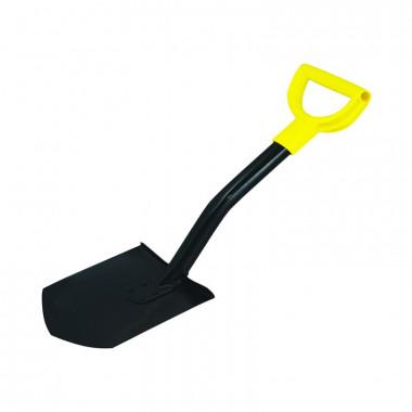Лопата штыковая Biber 99214, металлический черенок укороченная