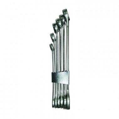 Ключи гаечные Biber 90621 рожковые 6-19 мм 6 шт.