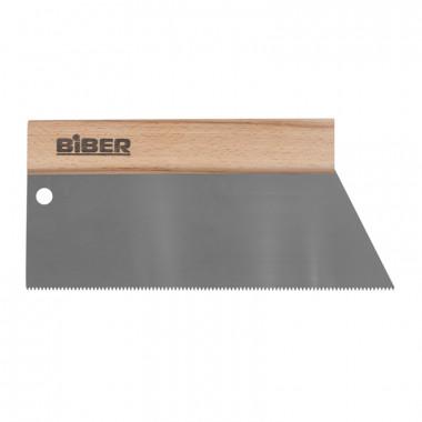 Шпатель для клея Biber 35272 зуб тип S3, 250 мм