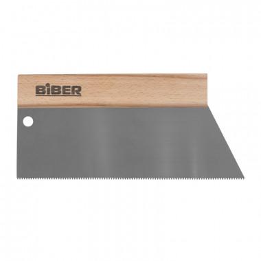 Шпатель для клея Biber 35273 зуб тип S4, 250 мм