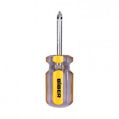 Отвертка Biber 85589 Стандарт PH 2х38 мм (бочка)