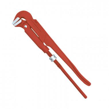 "Ключ трубный Biber 90052 Профи CrV, 90 градусов 1,5"""
