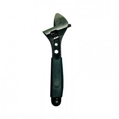 Ключ разводной Biber 90012 Профи 200 мм, CrV, пластиковая ручка, шкала