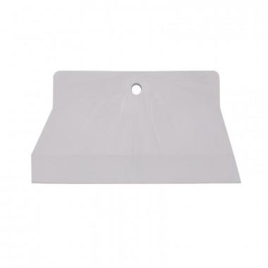 Шпатель резиновый Biber 35269 белый 150 мм