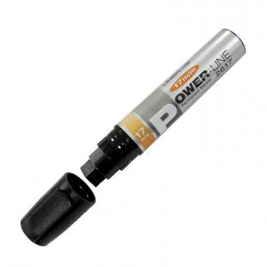 Маркер перманентный Power-Line 2617 черный линия 17 мм