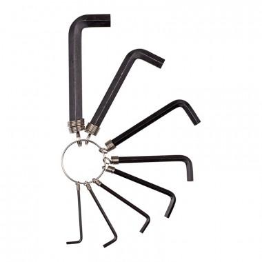 Набор инбусовых ключей на кольце Biber 90501 2-10 мм 8 шт.