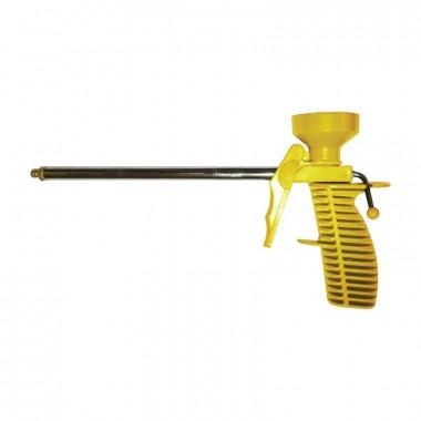 Пистолет для монтажной пены пластмассовый корпус