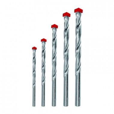Набор сверл по бетону Biber 80505 Стандарт 4-10 мм (5 шт)