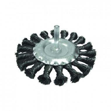 Щетка-крацовка дисковая витая 75 мм для дрели