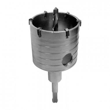 Сверло корончатое (буровая коронка) Biber 79002 SDS + d=80 мм