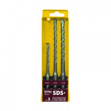 Набор буров Biber 79501 SDS + (d=5, 6, 8 мм) (набор 3 шт.)