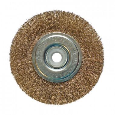 Щетка-крацовка дисковая 125 мм, отв.22,2 мм с комл.переходников