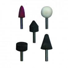 Абразивные камни Biber 70701 для дрели (набор, 5 шт.)