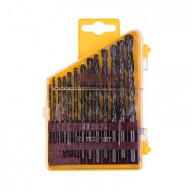 Набор сверл по металлу Biber 74132 HSS Стандарт 2-8 мм (13 шт)