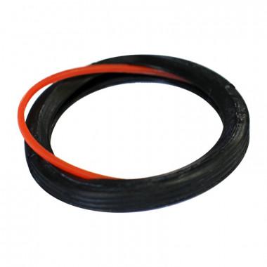 Кольцо резиновое (два лепестка) d=50 мм д/канализ.соединения