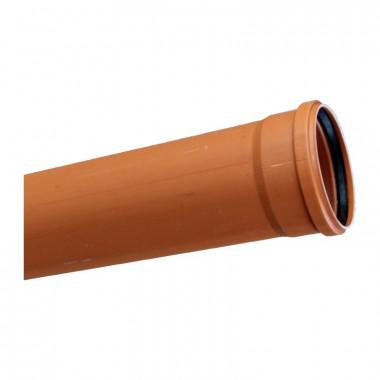 Труба канализационная наружная SN4 d=160х4,2х1000 мм