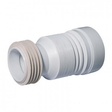 Труба д/унитаза гофрированная d=110мм L 250-550мм С-990