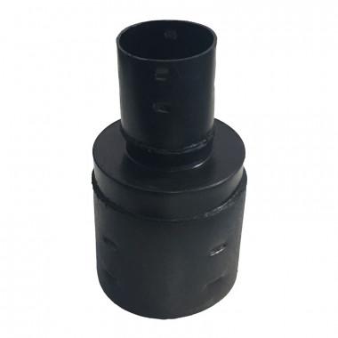 Переходник для дренажных гофрированных труб 110x63 мм