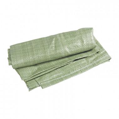 Мешок для строит. мусора полипропиленовый тканный (зеленый) (упак.=100 шт)