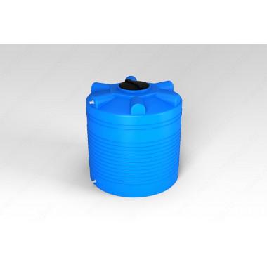 Емкость ATV 750 (синяя) узкая с отводами и поплавком (в.1690/диам.780) Aquatech (Код: А0000042198)